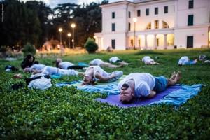 yoga a villa torlonia